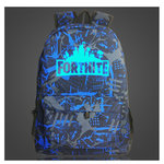 Fortnite Rugzak Glow in the Dark Battle Blauw