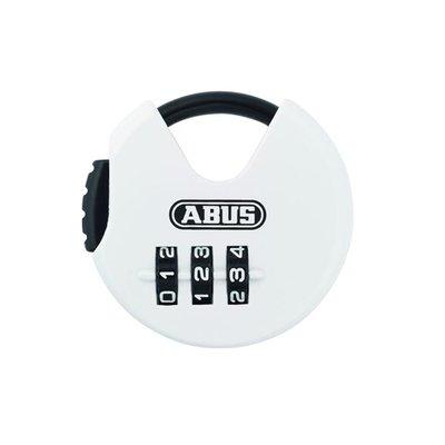 ABUS Kofferslot Cijferslot Wit/Zwart Rond