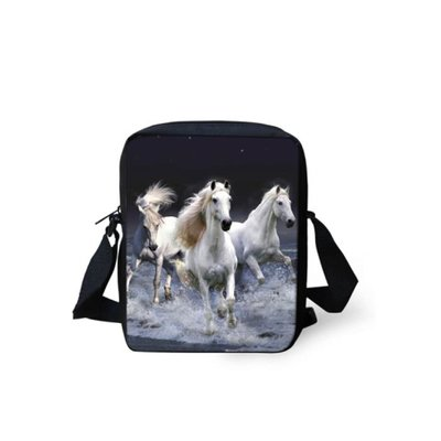 For U Designs Mini Messenger Bag Wilde Paarden