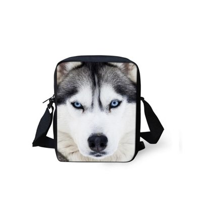 For U Designs Mini Messenger Bag Husky