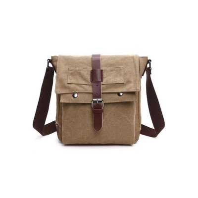Canvas Messengerbag Manaslu Camel