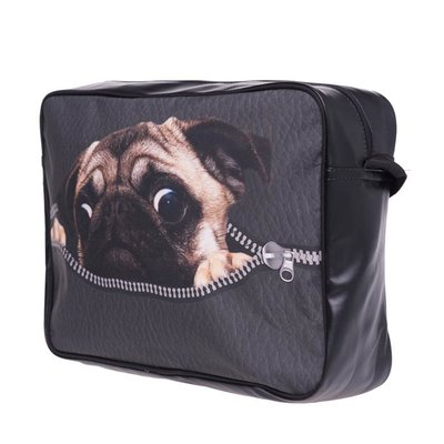 Funprint Messenger Bag Pug