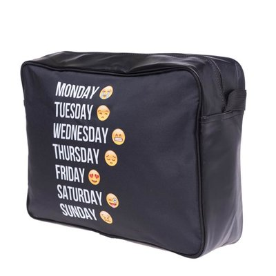 Funprint Messenger Bag Emoticons Week