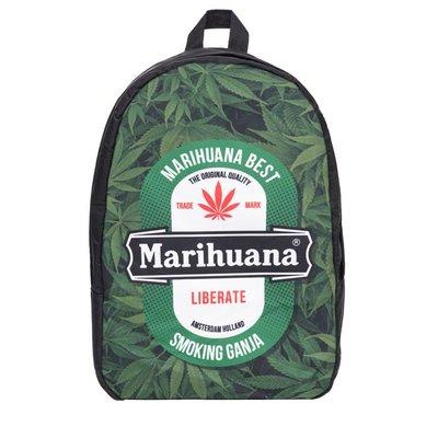 Funprint Rugzak Marihuana Liberate