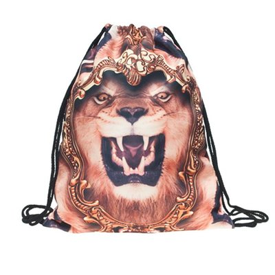 Funprint Gymtas Lion