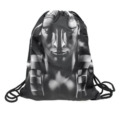 Funprint Gymtas Black Pharaoh