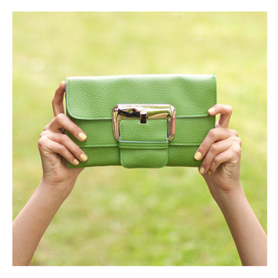 Art of Polo Ladies Clutch Groen
