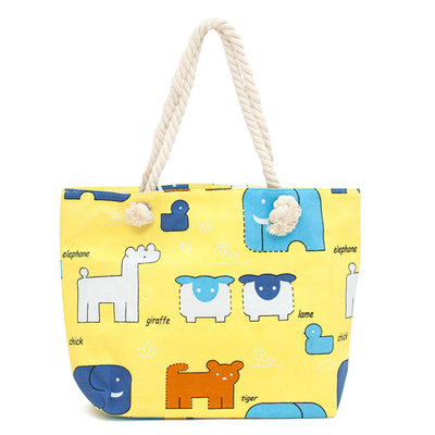 Art of Polo Canvas Strandtas Shopper Dieren