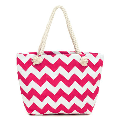 Art of Polo Canvas Strandtas Shopper Fuchsia