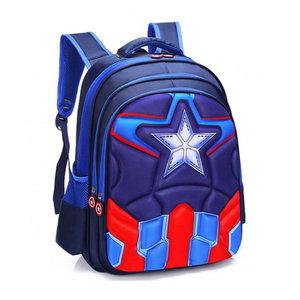 3D Rugzak Captain America Blue