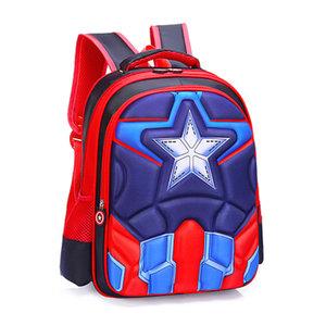 3D Rugzak Captain America Red