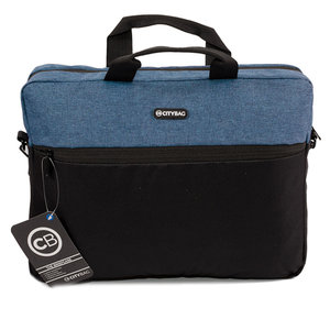 Citybag Laptoptas 15,6 inch LB655 Navy