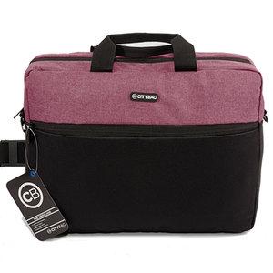 Citybag Laptoptas 15,6 inch LB655 Paars