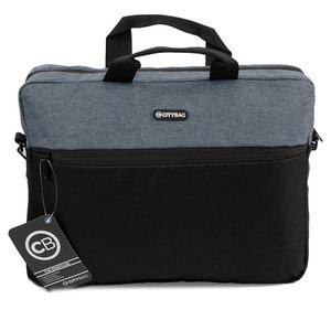 Citybag Laptoptas 15,6 inch LB655 Grey