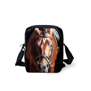 For U Designs Mini Messenger Bag Paard