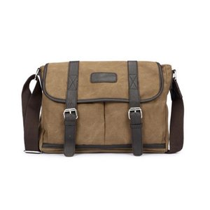 Canvas Messengerbag Masherbrum Bruin