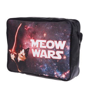 Funprint Messenger Bag Meow Wars
