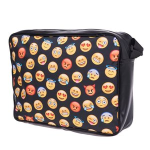 Funprint Messenger Bag Emoticons