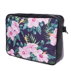 Funprint Messenger Bag Tropical Pink Flower
