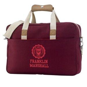 Franklin & Marshall - Schoudertas met 15 inch laptopvak