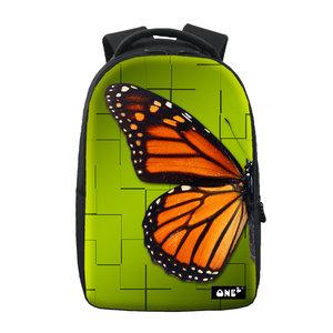 Rugzak One2 Vlinder Oranje