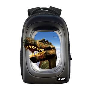 Rugzak One2 Vliegtuig Dinosaurus