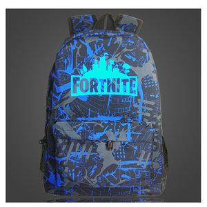 Fortnite Rugzak Glow in the Dark Battle Blauw