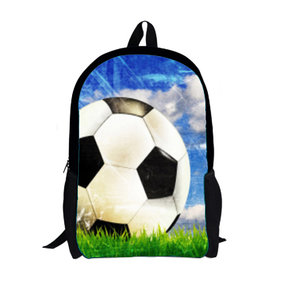 13c4b27ab6b For U Designs Rugzak Voetbal Football Socker Goedkope Schooltas ...