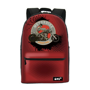 Rugzak One2 Motor Speed Fire Red