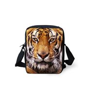 For U Designs Mini Messenger Bag Tijger