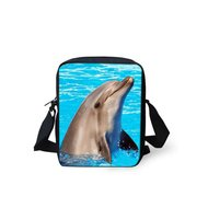 For U Designs Mini Messenger Bag Dolfijn
